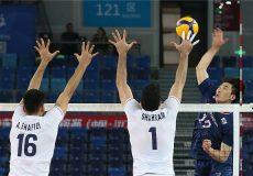 پیروزی تیم ملی والیبال ایران برابر کرهجنوبی