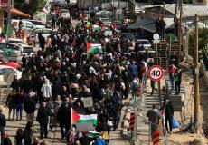 اشغال بیشتر فلسطین با جنایت قرن