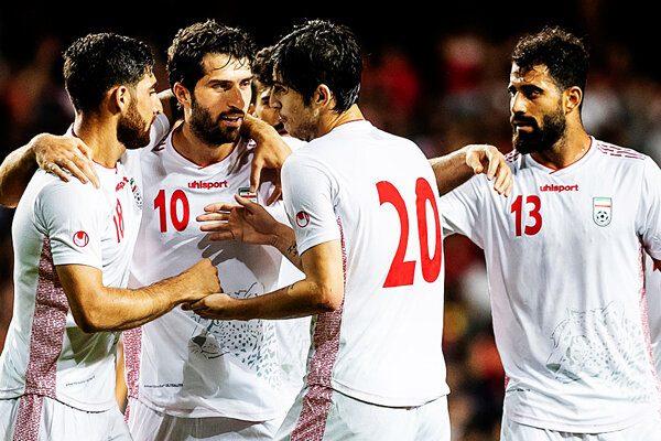 رنکینگ فوتبال جهان  ایران همچنان دوم آسیا و سی و سوم جهان