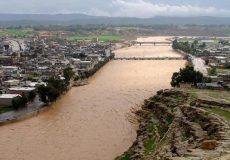 آخرین وضعیت سیل در لرستان/ شهر در محاصره آب