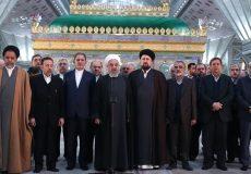 روحانی: هرکسی مردم را برای حضور در انتخابات دلسرد کند از راه امام(ره) فاصله دارد
