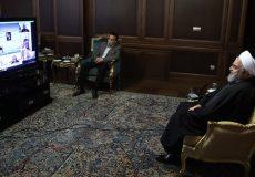 تشکر روحانی از رهبر انقلاب برای فرمان فعال شدن قرارگاه درمانی نیروهای مسلح