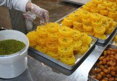 افزایش ۲۰درصدی قیمت زولبیا و بامیه