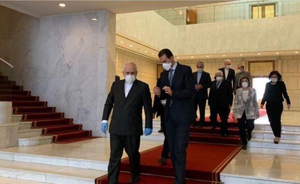ظریف با رئیس جمهور و وزیر خارجه سوریه دیدار کرد
