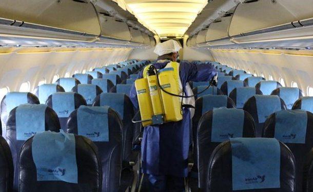 توقف ۷۵ تا ۱۰۰ درصدی پروازهای برخی فرودگاههای کشور به دلیل کرونا