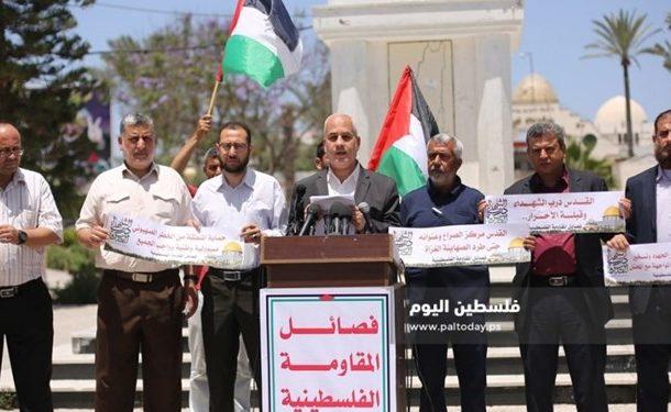 فراخوان گروههای فلسطینی برای ایجاد جبهه اسلامی-عربی جهت مقابله با رژیم صهیونیستی