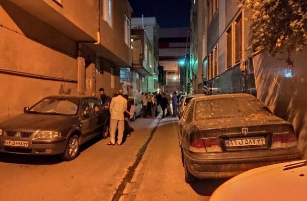توضیحات پلیس در مورد انفجار خیابان کمیل تهران