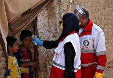 مجموع کمکهای مردمی به هلال احمر به ۱۱۵۰ میلیارد رسید