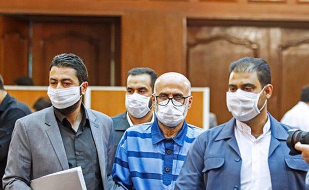 ششمین جلسه رسیدگی به اتهامات طبری