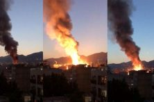 آتش در سینا اطهر شایعات را داغ کرد
