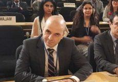 دفاع تمامقد نماینده لبنان در شورای حقوق بشر از حزبالله