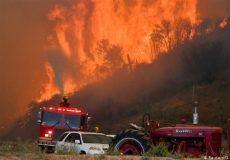 بزرگترین آتشسوزی کالیفرنیا در سال ۲۰۲۰