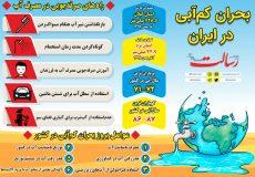 اینفوگرافی ؛ بحران کم آبی در ایران