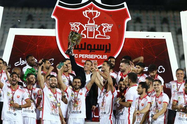 جشن قهرمانی پرسپولیس در نوزدهمین دوره لیگ برتر