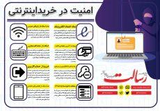 اینفوگرافی ؛ امنیت در خریدهای اینترنتی