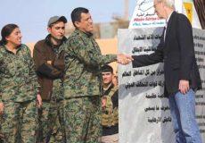 غارت علنی نفت سوریه توسط آمریکا