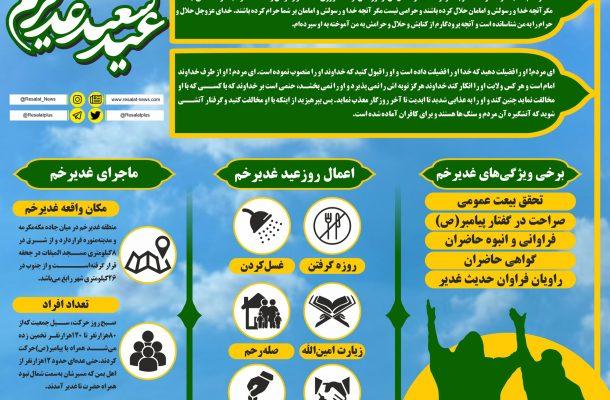 اینفوگرافی؛ عید غدیر