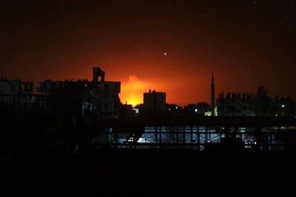 انفجار در خط لوله گاز حومه دمشق/ قطع سراسری برق در سوریه