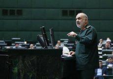 سرلشکر سلامی: آرزوهای سیاسی آمریکا برای خاورمیانه را به قبرستان سپردیم