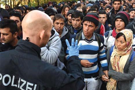حاشیه امنیت نژادپرستان در سرزمین ژرمنها
