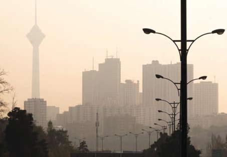 ماندگاری هوای ناسالم در تهران ادامه دارد