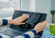 اینفوگرافی؛نحوه ضدعفونی کردن وسایل الکترونیکی