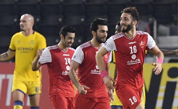 نیمه نهایی لیگ قهرمانان آسیا  پرسپولیس، النصر و AFC را با هم برد