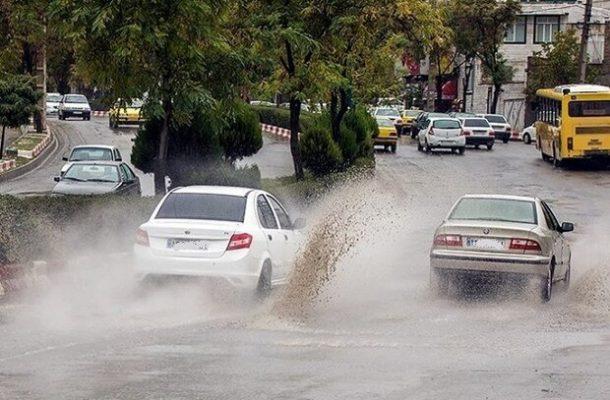 هشدار سیلاب ناگهانی و آبگرفتگی معابر در برخی استانها