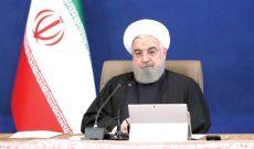 روحانی: نباید اجازه دهیم خواست دشمنان برای خلوتی صفهای رأی محقق شود