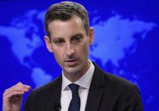 واشنگتن: فعلا گزینههای روی میز درخصوص ایران را علنی نمیکنیم