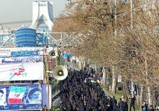 قطعنامه راهپیمایان یوم الله ۲۲ بهمن/ امید به بیگانه داشتن را خطایی نابخشودنی میدانیم