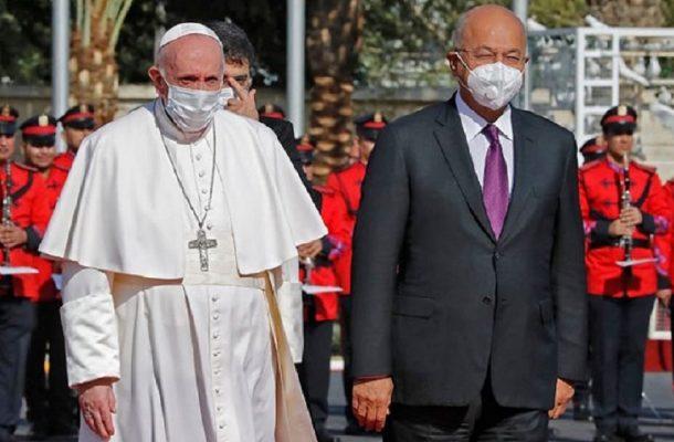 پاپ مهمان ایمن عراق