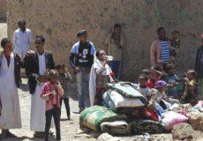 بمباران مستقیم آوارگان یمنی توسط آل سعود