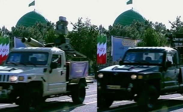 حضور سامانههای موشکی در رژه روز ارتش