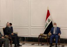 الکاظمی: ایران شریک راهبردی عراق است/حمایت تهران از بغداد در برابر داعش هرگز فراموش نخواهد شد