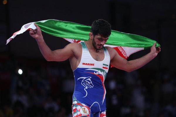 حسن یزدانی به مدال طلا دست یافت/ قهرمانی مقتدرانه امید اول ایران