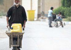 اینفوگرافی ؛ دلایل کم آبی خوزستان