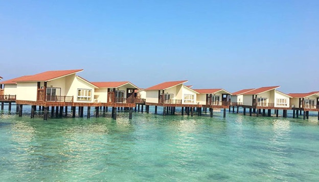 سوئیت های هتل ترنج کیش روی آب
