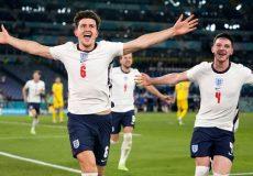 پیروزی جذاب انگلیس مقابل اوکراین خسته/ صعود وایکینگ ها به نیمه نهایی