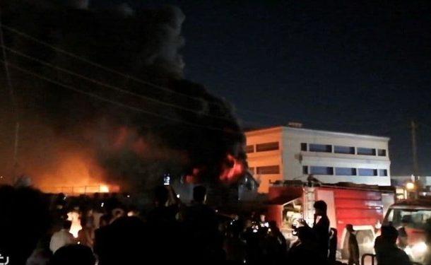 آتشسوزی در بیمارستانی در جنوب عراق/ ۴۵ نفر جان باختند