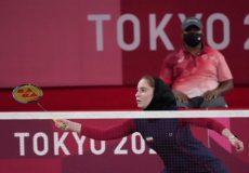 تاریخسازی ثریا آقایی در بدمینتون المپیک