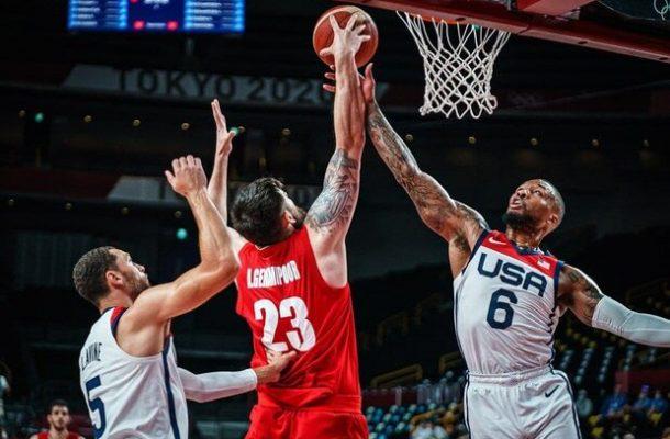 شکست تیم ملی بسکتبال ایران برابر آمریکا
