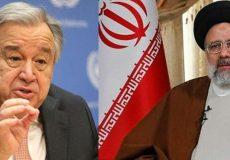 دبیرکل سازمان ملل خطاب به رئیسی: بر روی همکاری شما حساب باز میکنم
