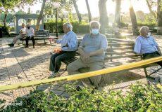 ایران زیر سایه کرونا پیر میشود