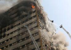 ساختمانهای ناایمن آتش زیرخاکستر شهر