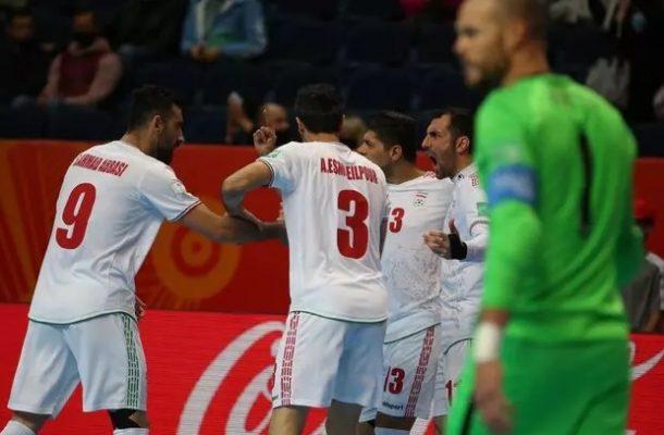 پیروزی تیم ملی فوتسال ایران مقابل آمریکا