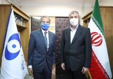 دیدار گروسی و رئیس سازمان انرژی اتمی/ اسلامی: مدیرکل آژانس مجدداً به تهران میآید