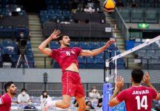 والیبال قهرمانی آسیا| حضور بیدردسر شاگردان عطایی در نیمهنهایی