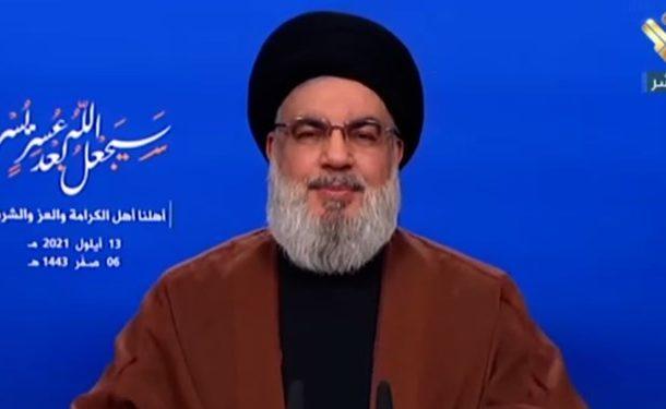 سید حسن نصرالله: کشتی حامل سوخت ایران، وارد سوریه شد