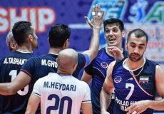 والیبال باشگاههای آسیا| تعظیم دوباره آسیا مقابل ایران/ فولاد طلایی!